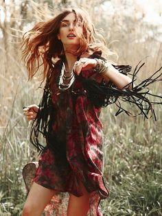 Wild & Free #bohemian #style #fashion