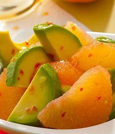 Easy Avocado & Grapefruit Salad | Avocados from Mexico