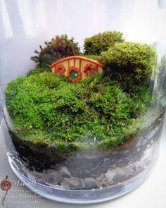 Как только увлеклась мини-домиками поняла что у меня обязательно должна быть #норахоббита. И вот теперь она у меня есть!  а еще - новая разновидность мха.  _______  #маст_НатаН #моймох #флорариум #мох #зеленый #forest #moss #green #mymoss #fairygarden #Fairies #florarium #hobbithouse
