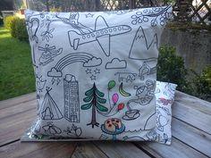 Decorating Pillow- Poszewki na poduszki uszyte samodzielnie.Inspiracja w sieci