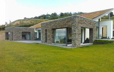Residential Refurbishment, Extensions to New Builds, Darragh Quinn Architects handle jobs of every size and budget from public buildings to home extensions. Cedar Cladding, Stone Cladding, House On A Hill, Farm House, Modern Bungalow House, Planning Permission, House Extensions, New Builds, Modern Farmhouse