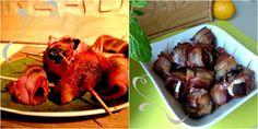 Synergia Przyjemności: Tradycyjne śliwki z boczkiem - kontra - śliwki z b... Tandoori Chicken, Shrimp, Meat, Ethnic Recipes, Food, Essen, Yemek, Meals
