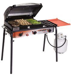 Big Gas Grill Three-Burner Stove