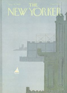 The New Yorker - Monday, August 18, 1980 - Issue # 2896 - Vol. 56 - N° 26 - Cover by : Charles E. Martin