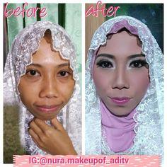 Nura Make Up Of ADITV: make up pesta