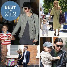 Celebrity Moms Best Looks of 2012