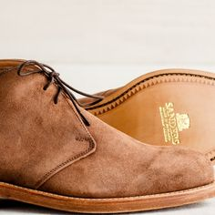 Men's British-Made Suede Chukka Boot | Guideboat Company