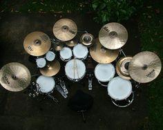The Octoban Thread - Page 2 Drums Studio, Drums Artwork, Diy Drums, Drummer Boy, Snare Drum, Drum Kits, Book Boyfriends, Custom Guitars, Van Halen