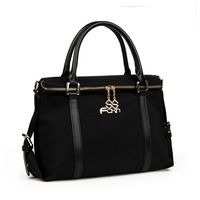 2017 Fashion Waterproof Oxford Women Messenger Bag Crossbody Bags Women Bag Double Zip Top Handbag European And American Style