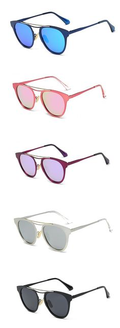 Fashion Women Polarized Glasses Light Irregular Cat Eye Colorful Sunglasses