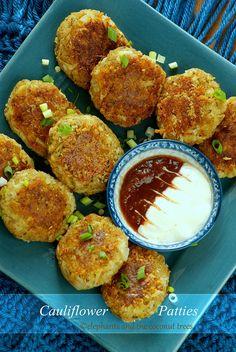 Cauliflower Patties / Cauliflower Cutlet #FallFest #FoodNetwork #cauliflowerrecipes