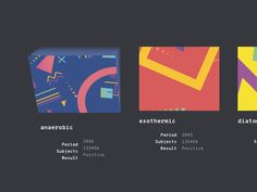 Decorative web hover effects that reveal a stack of multiple colored cards behind the hovered item in an interesting animation.