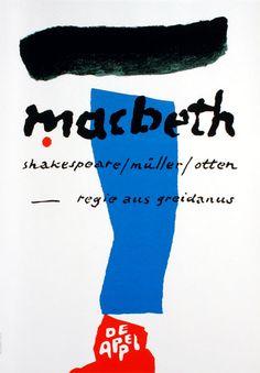Jan Bons – Macbeth, De Appel Theater