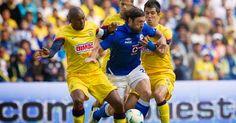 America vs Cruz Azul en vivo | Futbol en vivo - America vs Cruz Azul en vivo. Canales que transmiten en vivo y en directo enlaces para ver online a que hora juegan fecha y mas datos del partido.