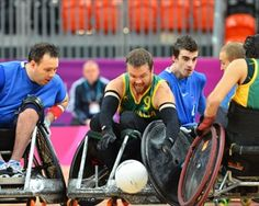 Wheelchair Rugby Tournament - Paralympics Games London 2012