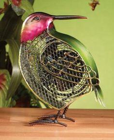Deco Breeze DBF0261 Hummingbird Figurine Fan