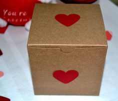 Love gift box- Valentine's Day Prep