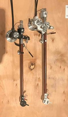 Reed 2A and 3P tonearms
