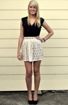Zama Skirt in Cream by Denise SL Spalk. https://marketplace.asos.com/listing/skirts/zama-skirt-in-cream-circles/1563084