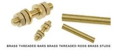 Brass Threaded Bars Brass Threaded Rods #BrassThreadedBars  #BrassThreadedRods We offer DIN 975 Brass full threaded bars #BrassThreadedrods  #1meterlong  #Brassstuds #Brassmeterlong studding for #American and #European market.  We use high tensile and free cutting #Brassrods and thread them using high speed threading machines for various electromechanical applications.