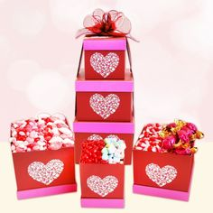 """Shop Lady Lois La Bella Baskets & order this valentine ensemble by Feb.5 so it can be there in time for your sweetheart to enjoy! """"Sweets For My Red Hot"""" is filled with candy and a perfect gift for candy lovers...visit:www.ladylois.labellabaskets.com"""