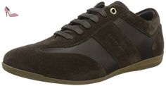 Tommy Hilfiger O2285tis 2c, Sneakers Basses Homme, Beige (Coffeebean 018), 42 EU - Chaussures tommy hilfiger (*Partner-Link)