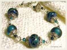 Teal effects - bracelet