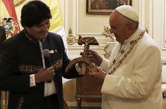 El Informal Segorbino: El Papa Francisco no estuvo afortunado. Ni en Quit...
