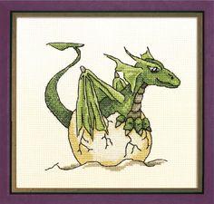 Small Dragon Cross Stitch Patterns Free | Cross stitch Chart