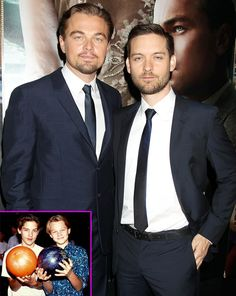 Leonardo di Caprio and Tobey Maguire - dated for awhile - friends with privileges. Actors Funny, Hot Actors, Actors & Actresses, Celebrity Pictures, Celebrity News, Michelle Obama Fashion, Young Leonardo Dicaprio, Love My Man, Hey Gorgeous