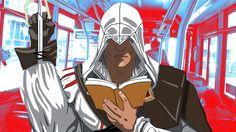 Reading the Creed by PurpleMonkeyDishwism on DeviantArt