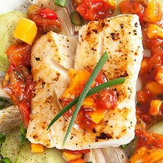 Salsa-Baked Fish - Recipe.com