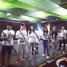 Amazing Team  #happyfriday #battlegame #決箭 #Archerytag #Archerytagbattle #sanpokong #workhardplayhard #amazinggame #niceplace #香港競技場