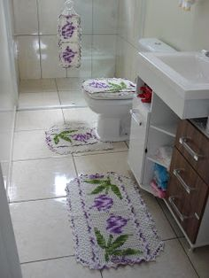 Вязание крючком Очарование: Ванная комната игра