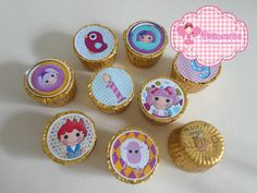 Chocolate Alpino Lalaloopsy | Piticarts By Veronica Emery | 396B54 - Elo7