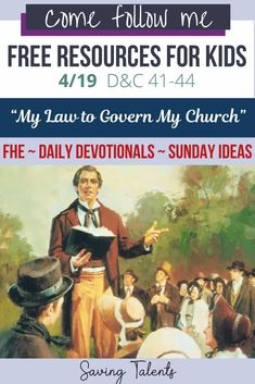 Daily devotionals, Family Home Evening (FHE), and Sunday ideas for kids and young children that go with Come, Follow Me for 4/19/2021. Raising Godly Children, Working With Children, Young Children, Devotional Songs, Daily Devotional, Family Home Evening Lessons, Fhe Lessons, Bible Resources, Help The Poor