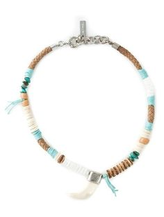 Etro Tusk Beaded Necklace http://sellektor.com/all?q=etro