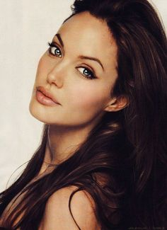 Women We Love in Their 30s: Beautiful in Black and White More #AngelinaJolie