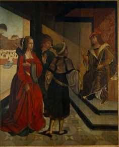 MatrizNet 16th Century, Portuguese, Dress, Painting, Mary Magdalene, National Museum, Old Art, Drawings, Brush Strokes
