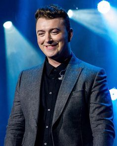 That smile is everything Sam smith