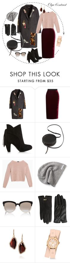 """""""27.09.2014"""" by olgacontrast on Polyvore featuring мода, Dolce&Gabbana, Roland Mouret, Sara Barner, Max&Co., Converse, Christian Dior, Ted Baker, Chloe + Isabel и Michele"""