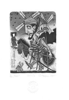 Ex Libris, Don Quixote