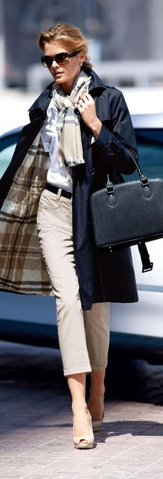 Madeleine 2013 recommend taking trouser length to the ankle This length mid calf is difficult to wear - even on fab legs!