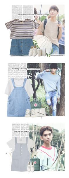 """SEVENTEEN sets"" by yxing ❤ liked on Polyvore featuring kpop, seventeen, Zara, Muji, joshua, Fjällräven, Converse, wonwoo, Marc Jacobs and A.P.C."