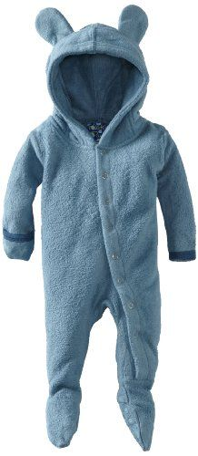 Kicky Pants Baby-Boys Infant Fleece Eared Footie, Twilight, 18-24 Months « Clothing Impulse