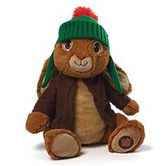 GUND's 16' Benjamin Bunny is a cuddly plush with a cute personality! This animated tv rabbit is so loveable and fun he will surely become a favorite forever friend! Benjamin Bunny is made with super ...
