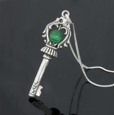The Soul Key For Protection    Sterling silver pendant