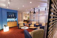 NTT Data (Chicago, IL)  Reno lounge seating in collaborative/open space.  #NationalOffice  #FurnitureWithPersonality