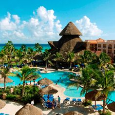 My favorite hotel and beach in Mexico. I am at home here!