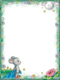 Made by Sophia Delve Design Kids Background, Cartoon Background, Borders For Paper, Borders And Frames, Free Printable Stationery, Free Printables, Cool Colorful Backgrounds, Quilt Labels, First Birthday Photos